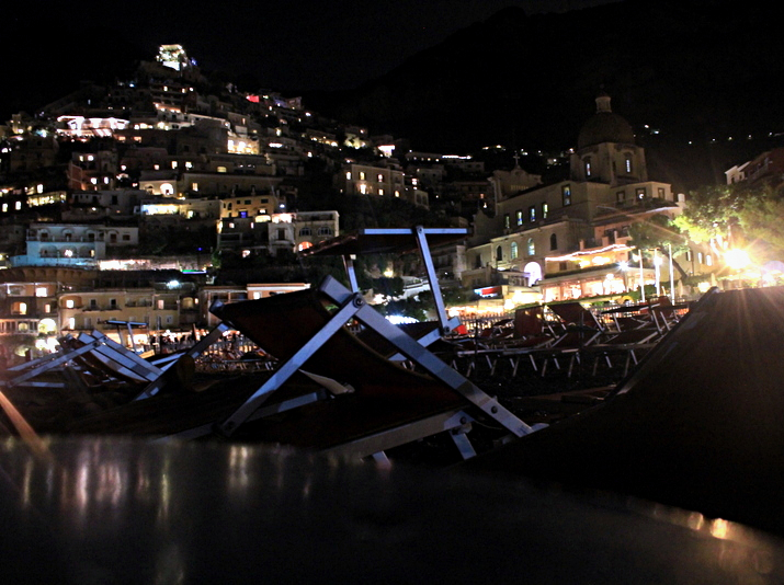 Positano all lighted up!