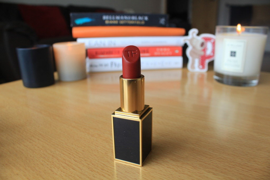 Tom Ford scarlet in all its glory.